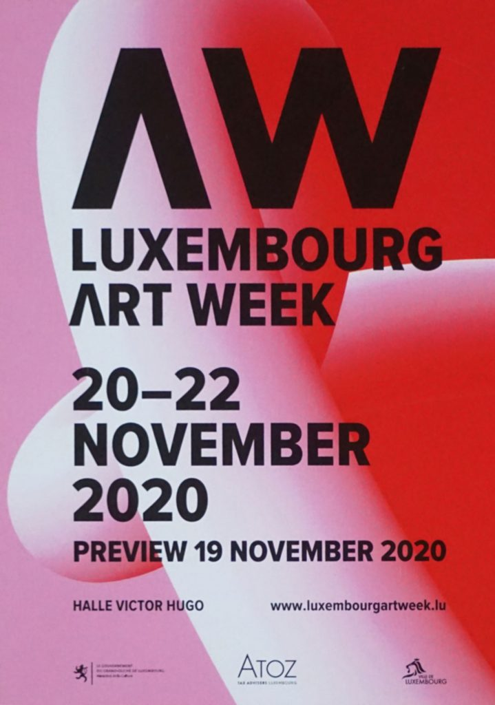 20.-22. November 2020: Art Week Luxembourg